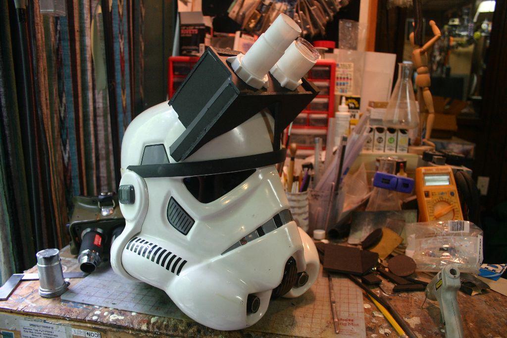 Bloody Plastic S Ghosttrooper Costume