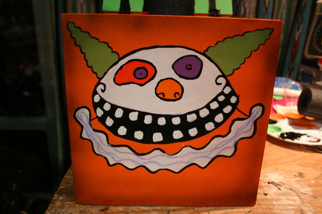 Bloody Plastic's Nightmare Before Christmas Jack-o-Lantern-in-a-Box